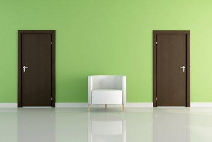 Bepalen van de draairichting van een deur of slot
