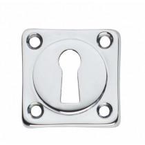 Intersteel Rozet sleutelgat vierkant chroom