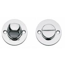 Intersteel Rozet toilet-/badkamersluiting rond plat chroom