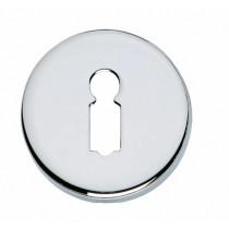 Intersteel Rozet sleutelgat rond verdekt chroom