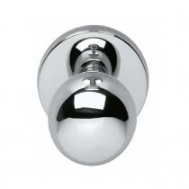Intersteel Voordeurknop bolrond 50 mm chroom