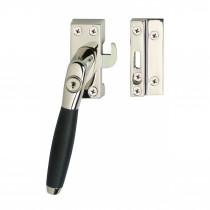 Intersteel Raamsluiting Ton 400 afsluitbaar SKG* links nikkel/ebbenhout