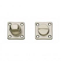 Intersteel Rozet toilet-/badkamersluiting vierkant basic nikkel mat
