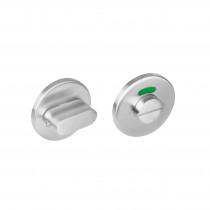 Intersteel Rozet toilet-/badkamersluiting rond rvs geborsteld 8 mm