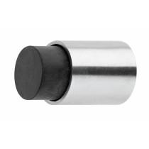 Intersteel Deurstop wandmontage 22x30mm kort rvs geborsteld