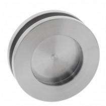 Intersteel Schuifdeurkom glasdeur 36 mm rvs geborsteld