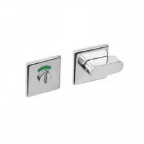 Intersteel WC-sluiting 8mm vierkant verdekt met design olive rvs gepolijst