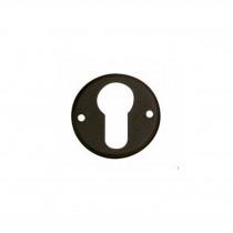 Intersteel Rozet met profielcilindergat smeedijzer zwart