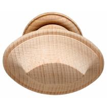 Intersteel Knopkruk op rozet hout