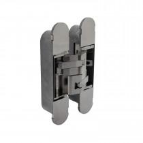 Intersteel Scharnier 160 x 32 mm zamak – nikkel 3D verstelbaar