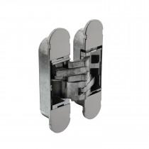 Intersteel Scharnier 130 x 30 mm zamak – nikkel 3D verstelbaar