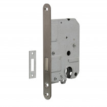 Intersteel Woningbouw cilinder kastslot 55 mm rvs