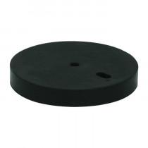 Deurbuffer verhoger 10 mm rubber zwart tbv 01999