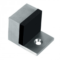 Deurbuffer vloermontage 32x32x40mm rvs mat