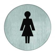 Symboolplaat dames