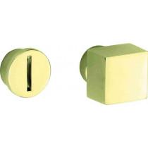 WC stift 5-8 mm Bauhaus messing gelakt