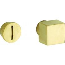 WC stift 5-8 mm Bauhaus messing ongelakt