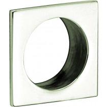 Krukrozet /Mini vierkant glans nikkel