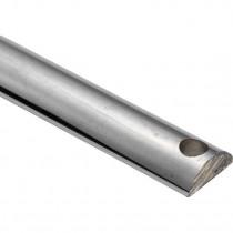 Krukespagnoletstang 6x16x110mm glans nikkel