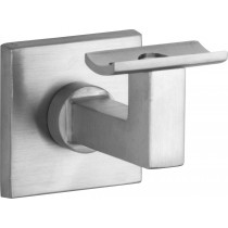 Leuninghouder Bauhaus hol M10 mat nikkel ongelakt