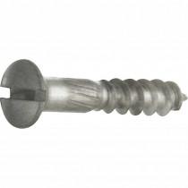 Houtschroef DIN 95 (4 stuks) 4,0x25 mm mat nikkel ongelakt
