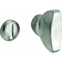 WC stift 5-8 mm Elegant antiek nikkel