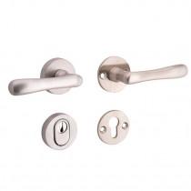 SKG3 kruk/kruk op rozet rechts Linea/Elegant m/ KTB mat nikkel / mat nikkel PVD