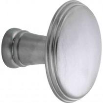 Knop tbv SKG schild Art-Deco mat chroom