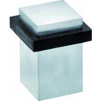 Deurstopper Vierkant mat chroom