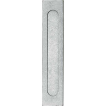 Briefplaat Verta antiek chroom mat
