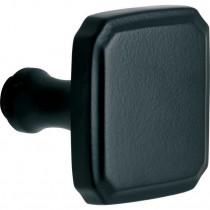 Knop tbv SKG schild Art-Nouveau mat zwart