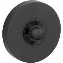 Beldrukker Vivo mat zwart