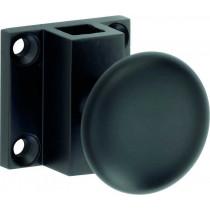Esganolet trekknop Elegant mat zwart