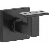 Leuninghouder Bauhaus vlak M10 mat zwart