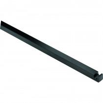 Espagnoletstang tbv Kruk/Pomp Q9x1400mm mat zwart