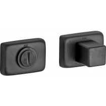 WC garnituur 5-8 mm Mini mat zwart PVD