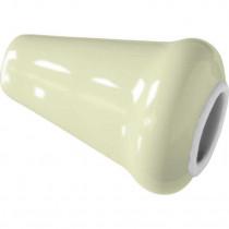 Lichttrekkerknop porselein ivoor