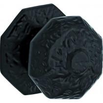 Voordeurknop Oxford ijzer zwart