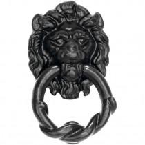 Deurklopper Lion ijzer zwart