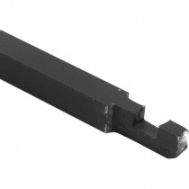Pompespagnoletstang Rustico 1500cm ijzer zwart