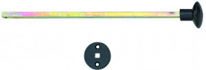 Beltrekker Champignon mat zwart